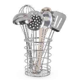 Stir & serve cooking utensils