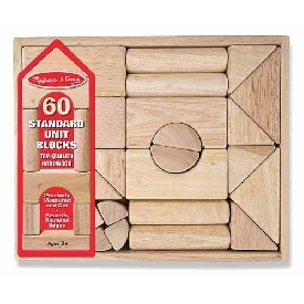 Standard Unit Blocks 60 pcs