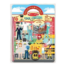 Puffy Reusable Sticker Set - Cool Career