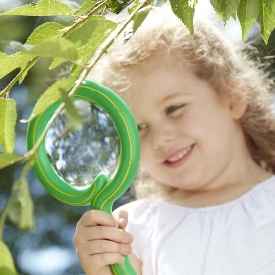 Kids magnifier - shimmy snakes
