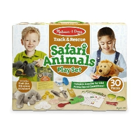 Safari animal playset