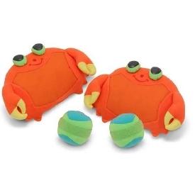 Clicker crab toss & grip game