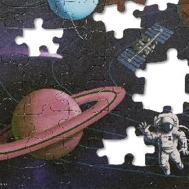 จิ๊กซอ 100 ชิ้น รุ่น อวกาศ