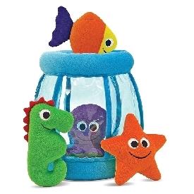 ชุดของเล่นผ้าเด็กเล็ก เรียนรู้การแยกแยะสี