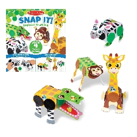 Snap it! beginner craft kit - safari