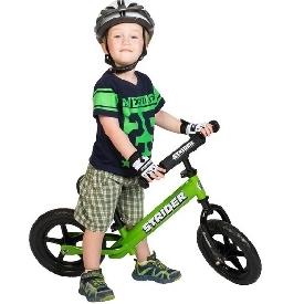 ถุงมือขี่จักรยานสไตรเดอร์(แบบครึ่งนิ้ว)