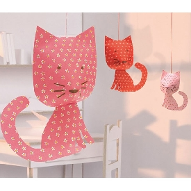 Hanging Decorations Cats