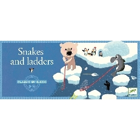 Snake and ladders polar game