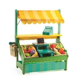 Leo's shopkeeper market stall