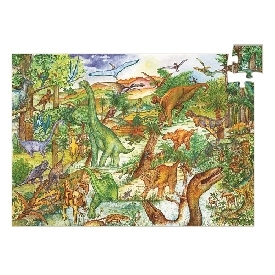 จิ๊กซอว์และหนังสือไดโนเสาร์