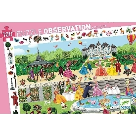 Garden party observation puzzle