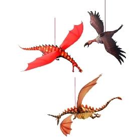 Hanging Merciless dragons