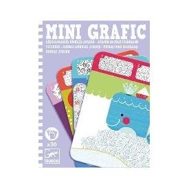 Mini grafic - junior doodle colouring pictures