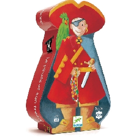 The pirate and his treasure puzzle - 36 pcs