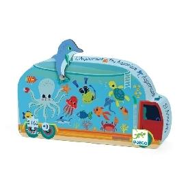 The aquarium puzzle - 16pcs