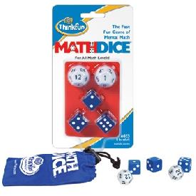 เกมลูกเต๋าชวนคิดคณิตศาสตร์ ระดับ 2