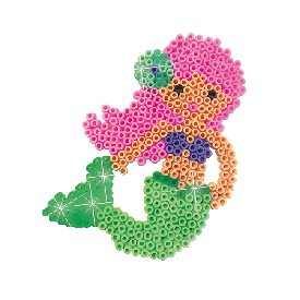 Beedz - iron on beads mermaid