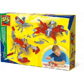 Metal crawlies construction set