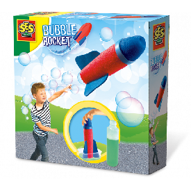 Ses - bubble rocket - a trail of bubbles