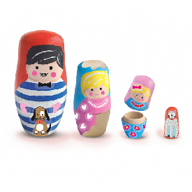 Ses - painting nesting dolls