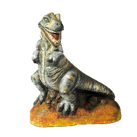 Casting and painting - dinosaurs