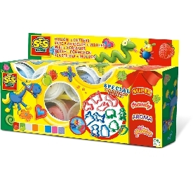 Super play dough – play doughmania 8x90gr + cutters