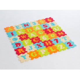 Foam mat - alphabets and numbers