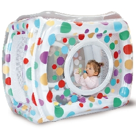 Inflatable play pen - dot