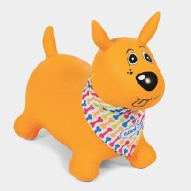 Hopping dog