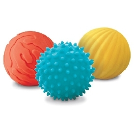 ชุดลูกบอลกระตุ้นประสาทสัมผัส 3สี