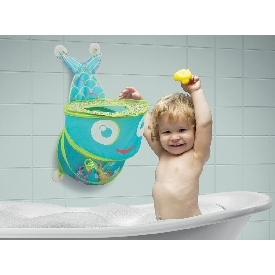 Bath toy organizer - fish