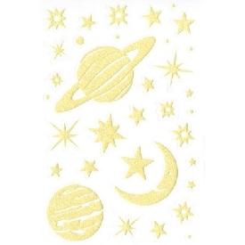 สติกเกอร์เรืองแสง ลายดวงดาว