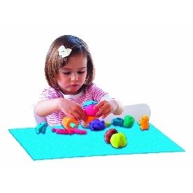 Set of 10 plastic placemats