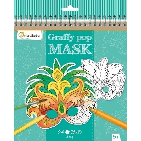 Graffy pop mask - carnival