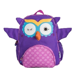 Kids backpack - olive the owl - purple