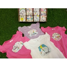 Baby bodysuits set 12 - colorful unicorn
