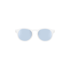 Transparent keyhole with blue mirrored lenses (the jet setter)