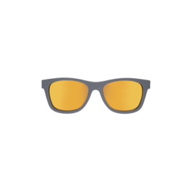Grey navigator with orange mirrored lenses (the islander)