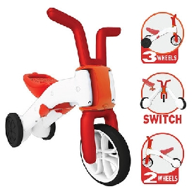 Bunzi 2-in-1 gradual balance bike