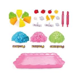 3d sand box - cake playset