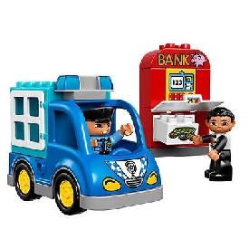 ตัวต่อเลโก้ duplo 10809 : รถตำรวจ
