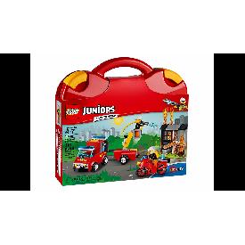 Lego juniors 10740 : fire patrol suitcase