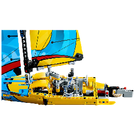 Lego technic 42074: racing yacht