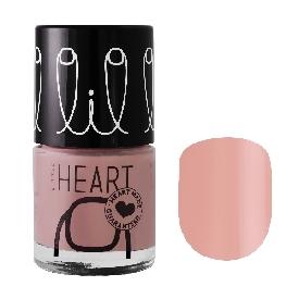 Little heart nail color gwyneth beige 28