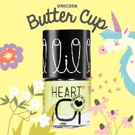 Little heart nail color butter cup unicorn collection 56