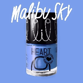 Little Heart Nail Color Malibu Sky 18