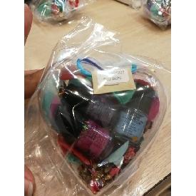 Gift set heart/peachy 47 49 51