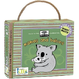 Book & game - mama and babies
