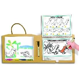 Play draw create -  dinosaurs