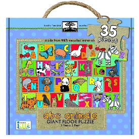 Giant floor puzzle : abc animals